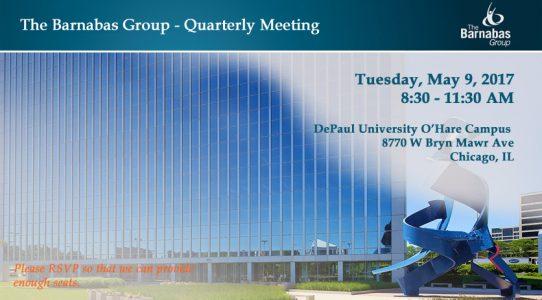 Quarterly Event – O'Hare Area (May 2017)