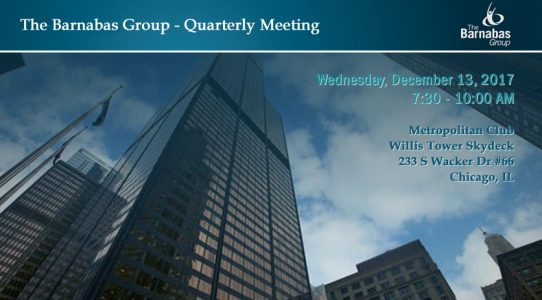 Quarterly Event – within Chicago Loop (December 2017)