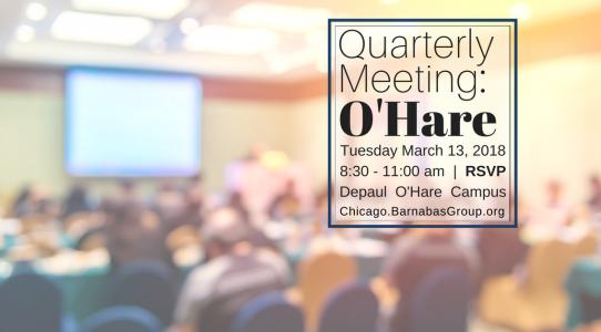 Quarterly Event – Chicago O'Hare (March 2018)