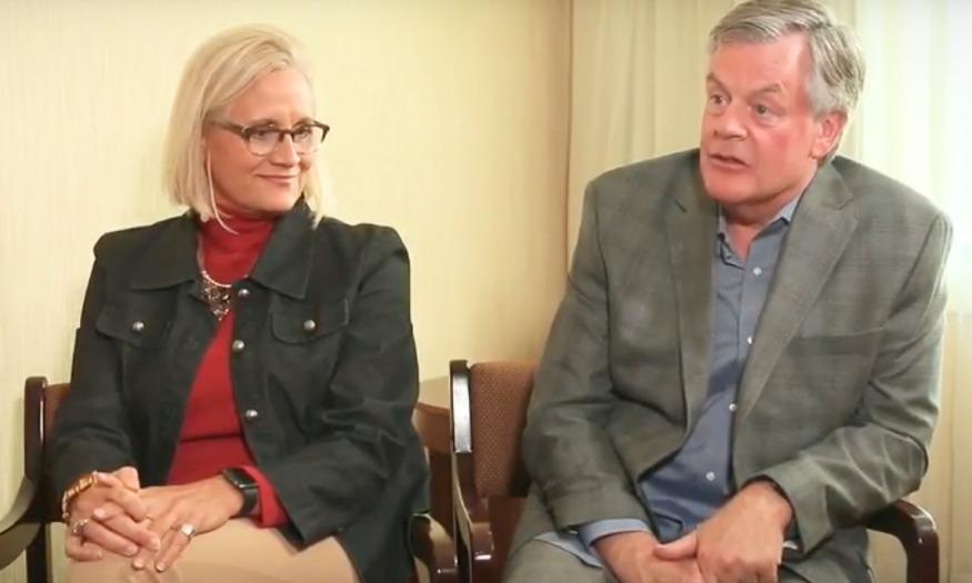 Becky Turner and Bob Shank