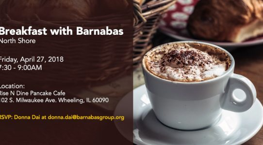 The Barnabas Group Chicago     Breakfast April 27