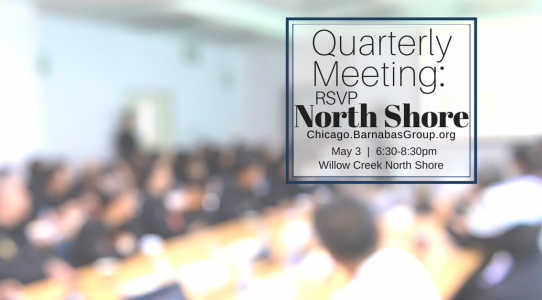 Quarterly Event – Chicago North Shore (May 2018)