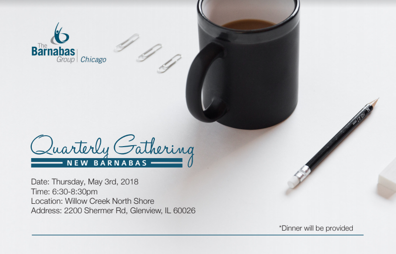 The barnabas group chicago north shore meeting details